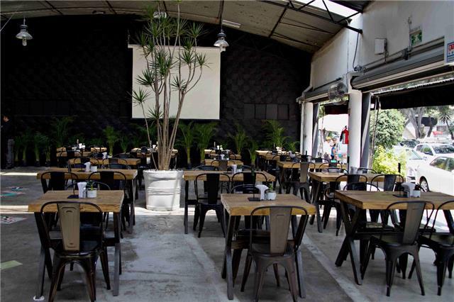 Terraza Mercado Molière Distrito Federal México