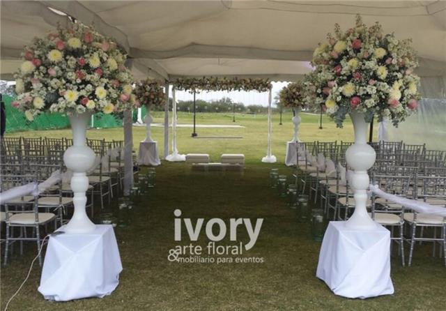 Arreglos Florales Para Eventos En Monterrey Ivory Nuevo